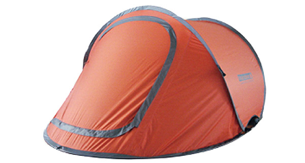 How to pack up a pop-up tent in 5 seconds…