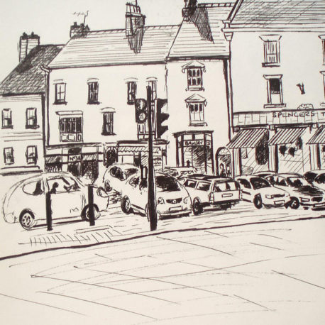 Ashbourne Market Place – (2007)