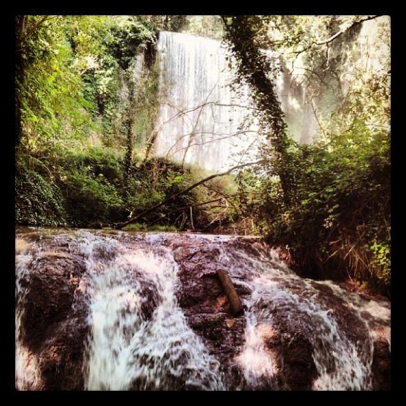 Cascada (many more to follow...) (231/365) #ClaraGoesToSpain