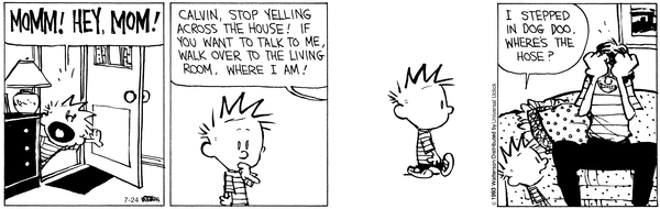 Calvin & Hobbes - Dog poo