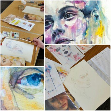 Art – Mixed media course