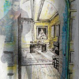 Lord Vernon's Study – 2014