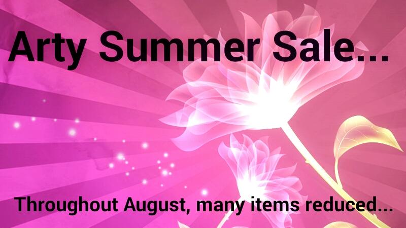 Arty Summer Sale